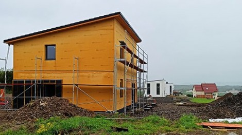Passive, single-family wooden house –  MoistureGuard sensors as a part of the research of the Faculty of Forestry and Wood Sciences in Prague