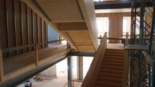 Čidla MoistureGuard jsou součástí největšího projektu dřevěné stavby ve Slovinsku